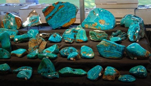 Разные камни хризоколла