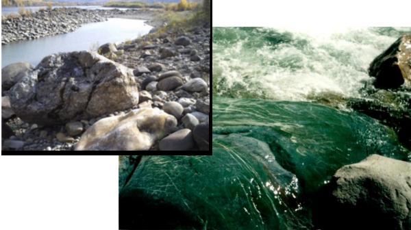Добыча нефрита в воде