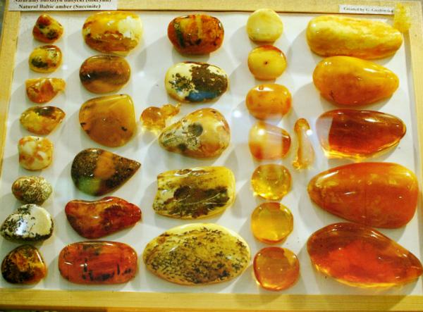 Доска с янтарем - виды и цвета