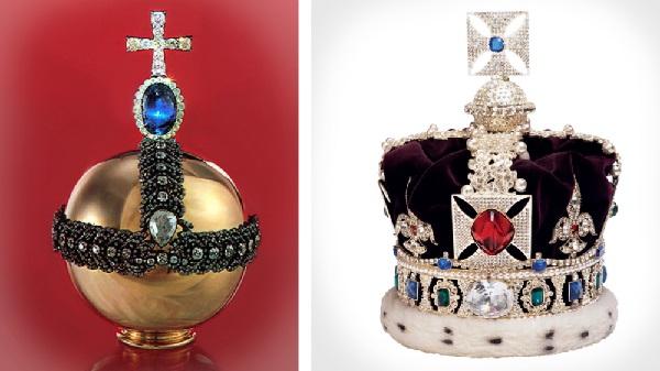 Драгоценности - украшение королей с сапфирами
