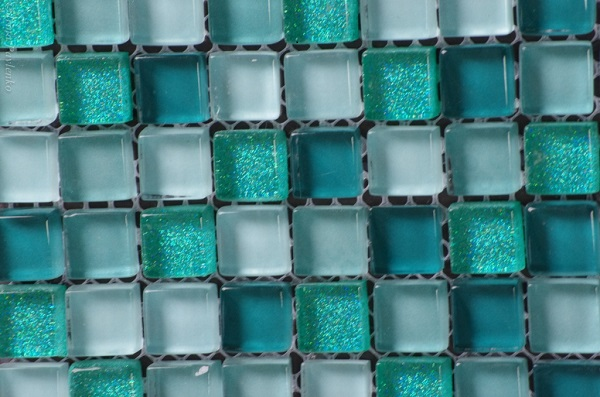 Мозаика из бирюзы