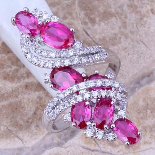 Розовый топаз - украшения