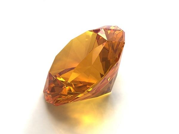 Золотистый топаз - натуральный камень
